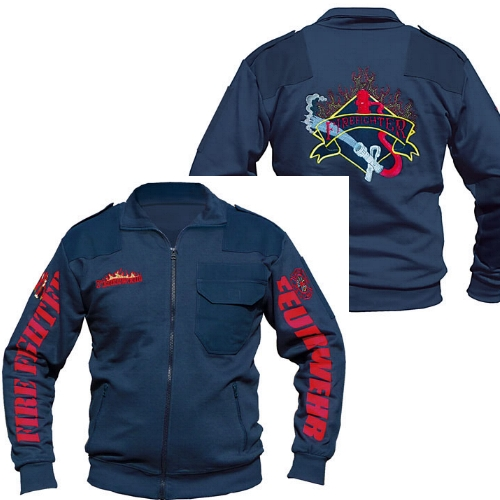 Sweatjacke Commander ´ALL OVER´